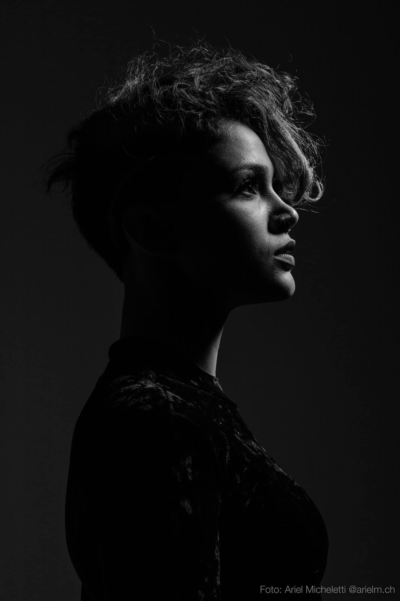 Retrato Moda - Blanco y Negro
